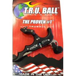 Релиз для блочного лука T.R.U. Ball HAND MODEL ST360X THUMB 4-FINGER BLACK